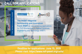 PASET Regional Scholarship and Innovation Fund (RSIF) PhD Scholarships
