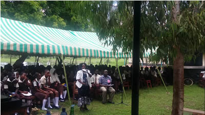 4th June 2015 – KIBOKONI SECONDARY SCHOOL, MALINDI: CAREER DAY