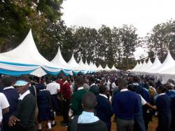 High Schools during Embu County Career fair
