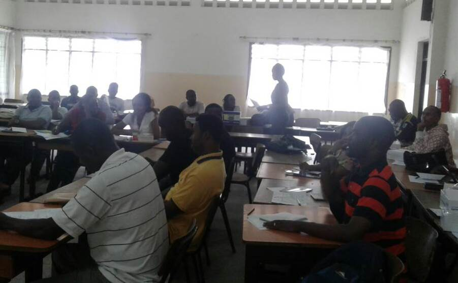 Orientation at Mombasa Campus