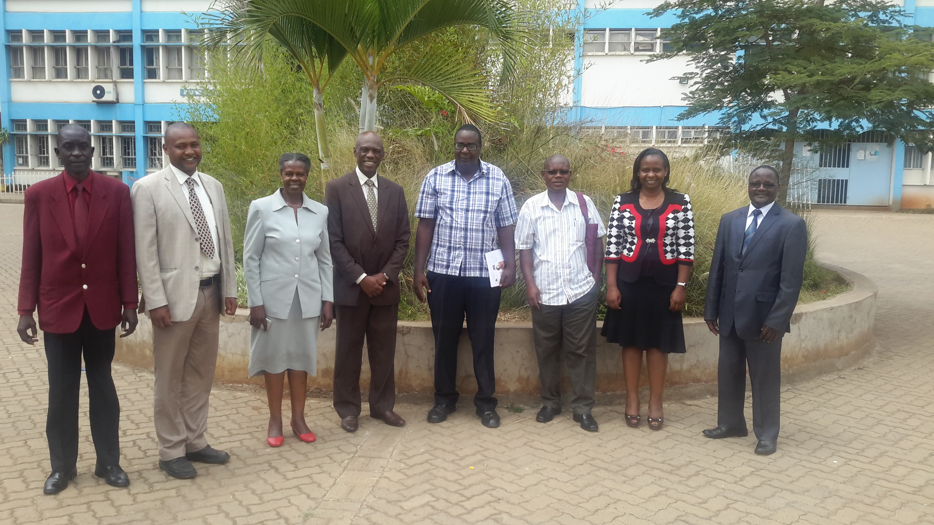 Bench marking Visit by Rongo University