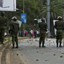 Property worth millions destroyed as UoN Students went on Rampage