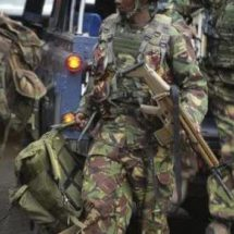 KDF Soldiers Arrested After Beating Police