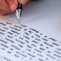 Career guide; Writing a personal statement