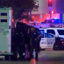 Five Dallas police officers killed by snipers amid protests