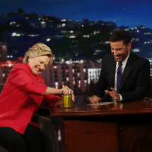 Hillary opens pickle jar to prove health; readies for 'wacky' Trump