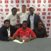 Player announces that he is joining Arsenal