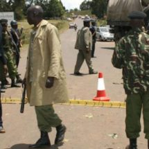 Police Officers knocked down by Nairobi Driver