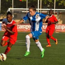 Starlets beat Espanyol 3-1 in a football match