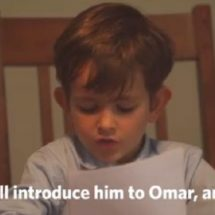Six year  kid offers his home, family to Syria's Omran Daqneesh
