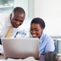 Working in the same office as your partner is hectic