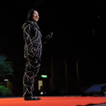 Mushroom lined burial suit that will decompose remains