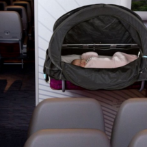 Mom invents in-plane sleep activator for children