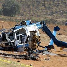 Helicopter crash in Angola leave 4 dead