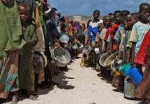 40 % of Somalis starving due to food shortage