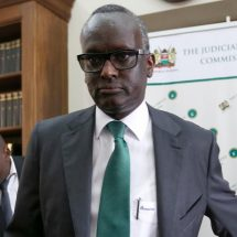 Isaac Lenaola nominated for Supreme Court judge
