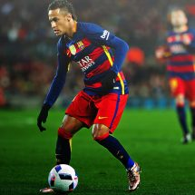 Neymar  pinned at Camp Nou up to 2019