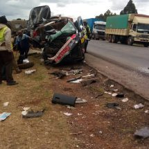 Fatal accident reported along Salgaa road