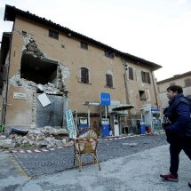 Fierce earthquakes hit central Italy, no deaths reported