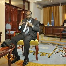 President appeals for aid in the drought-stricken parts of Somalia