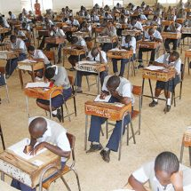 Over 1.5m candidates sit or exams