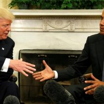 Trump receives Obama's counsel