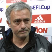 Jose Mourinho watched 4-1win at Old Trafford in 'secret' location