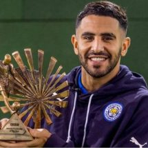 Riyad Mahrez crowned BBC African Footballer of the Year 2016.