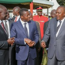 Those involved will be held to account, Uhuru assures Kenyans over NYS scam
