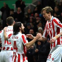 Shawcross and Crouch ensure three points for Stoke