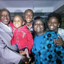Joy as kidnapped boy reunites with his parents