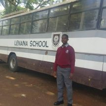 Sonko's adopted child joins Lenana school