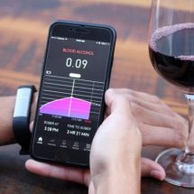 Proof wearable helps you test your Blood Alcohol Level