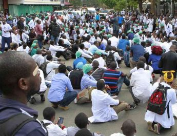 Doctors choose to be in jail as talks with state fail