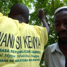 Stern warning to the Mombasa Republican Council by the state