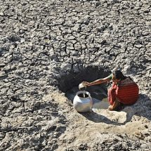 Government take measures on containing drought