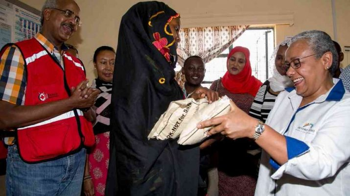 First Lady receives Sh3m for drought