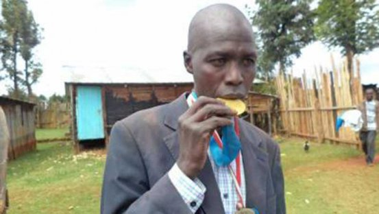 Former elite Kenyan athletes living in squalor
