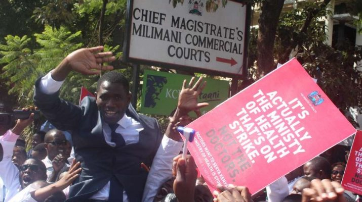 After 100 days of pain, doctors CoG and ministry cure strike