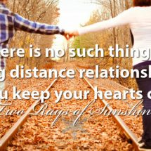 Can a long distance relationship work?