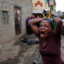 Mathare man shot dead, another stabbed during protests over election