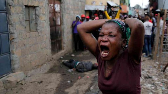 Chaos arise in Mathare