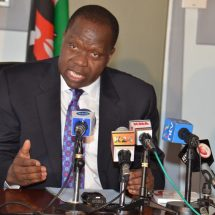 Moi Girls fire incident was an arson, Fred Matiang'i rules out accident
