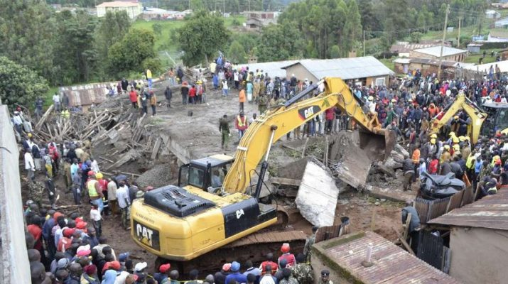Building caves in at Kapsabet, 40 workers rescued