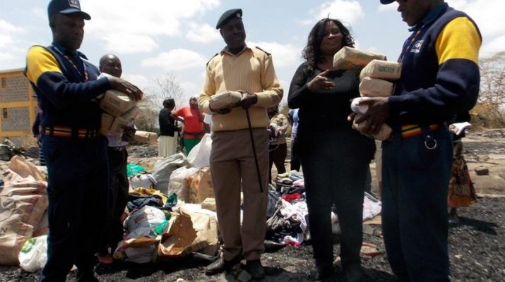Chiefs, NGO donate to Athi River fire victims