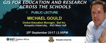 Gis for Education and Research Across The Schools-Public Lecture