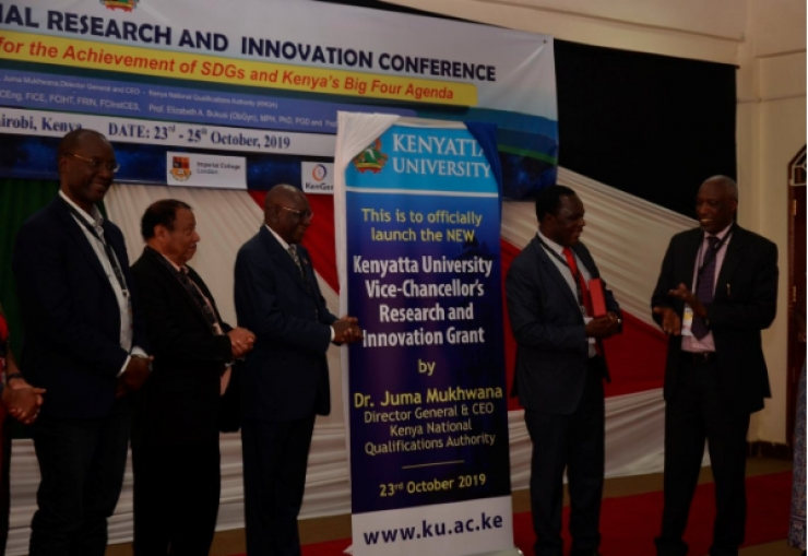 Vice Chancellor's Research and Innovation Grant Launched