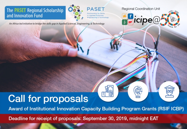 CALL FOR PROPOSALS: RSIF Institutional Capacity Building Program (RSIF- ICBP)