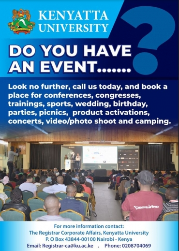 Do You Have an Event?