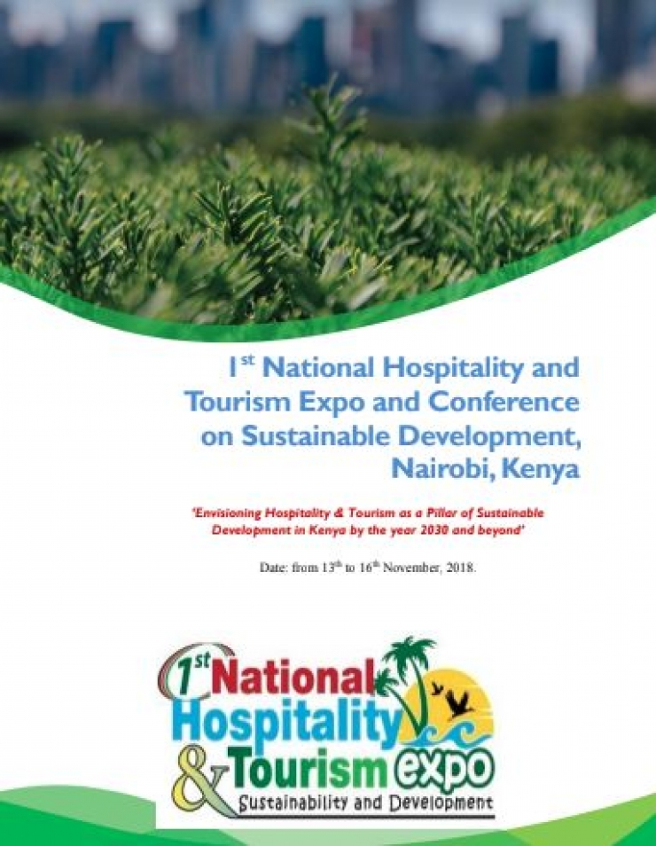 POSTPONEMENT OF THE 1ST NATIONAL HOSPITALITY AND TOURISM EXPO AND CONFERENCE TO - 9TH - 11TH APRIL 2019